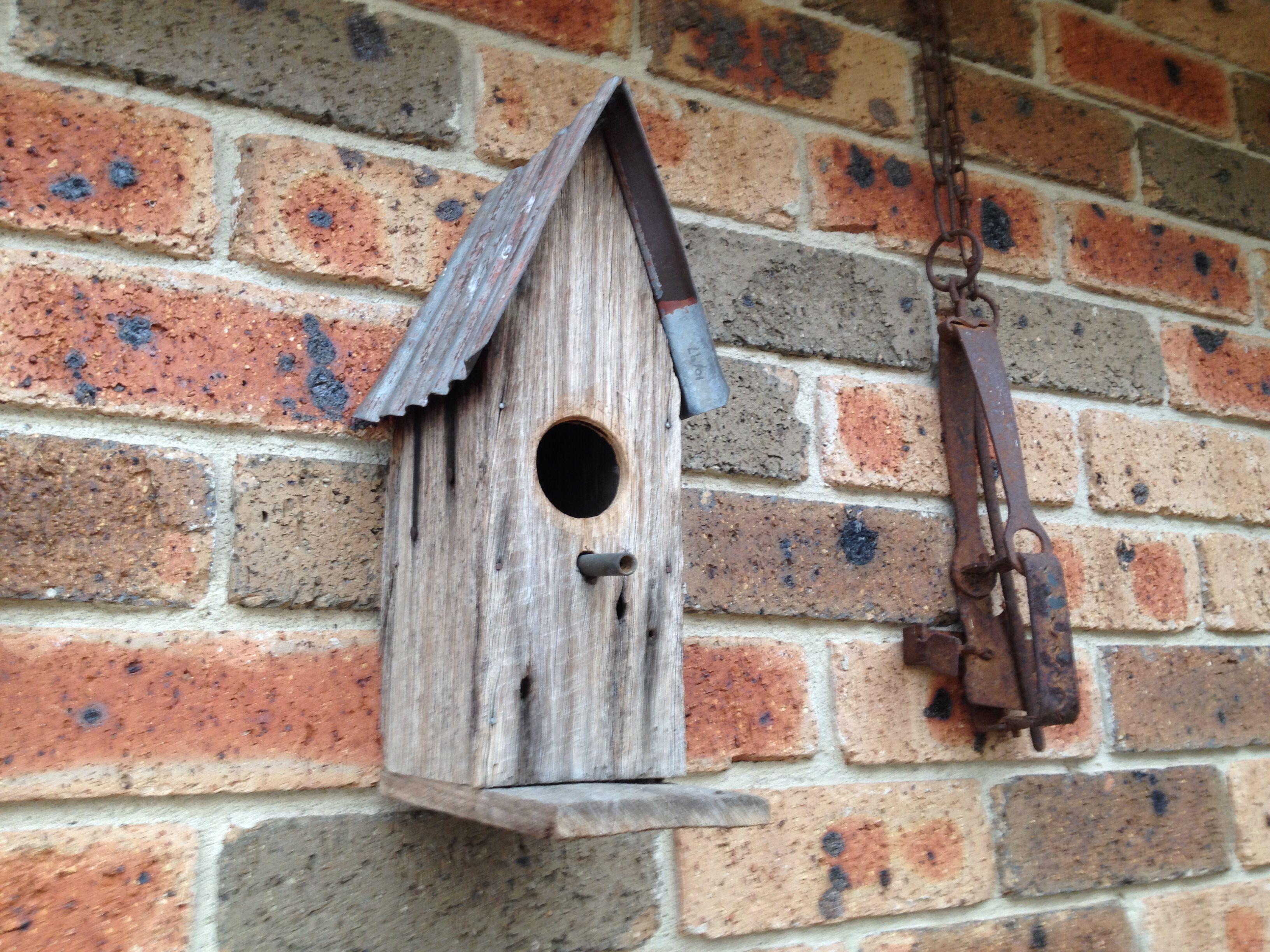 Bird house from timber fence palings   Garden   Pinterest   Timber ...