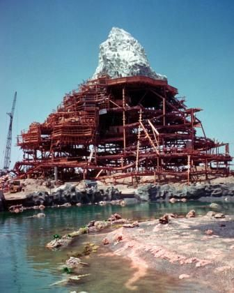 1958 Matterhorn Disney Land Did You Know There Is A Basketball