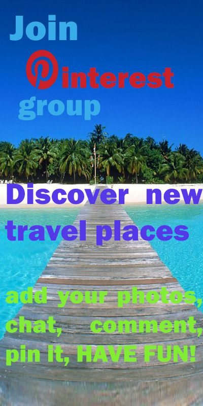 Everybody welcome to pin something of your travel photos or nice places. Message me for invitation into group or contact 0kutiss@gmail.com HAVE FUN!!! :)