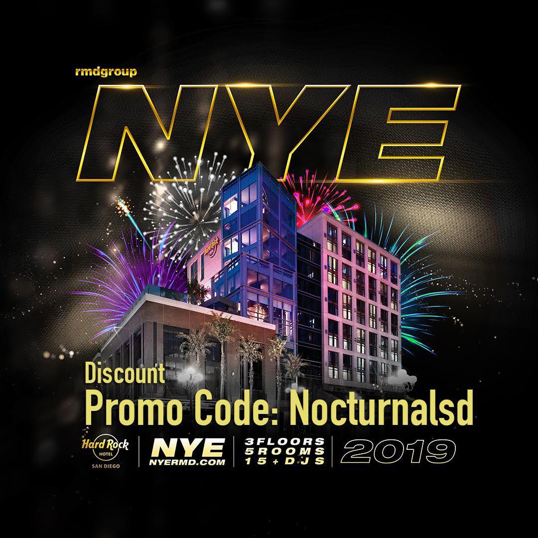 Hard Rock NYE Promo Code San Diego 2019 Discount tickets