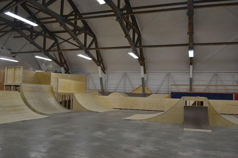 All In Skate Park - Zurich, Ontario | Interior Skateparks | Skate