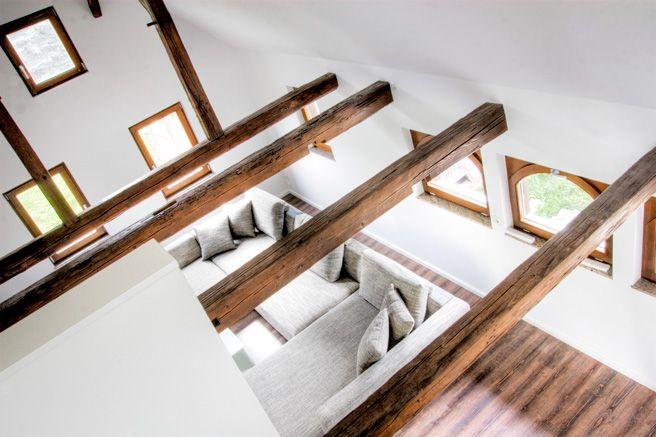 wohnen in der scheune xw traditional art pinterest scheunen umbau und bauernhaus. Black Bedroom Furniture Sets. Home Design Ideas