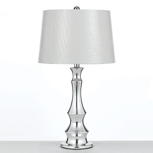 Genie chrome one light 27 inch high table lamp by candice olson af genie chrome one light 27 inch high table lamp by candice olson af lighting accent lamp aloadofball Choice Image