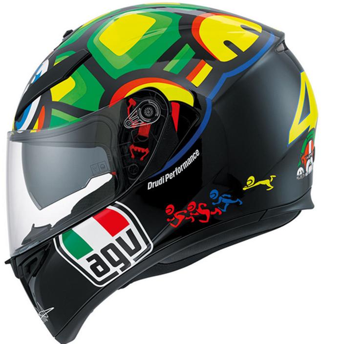 AGV K3 SV Valentino Rossi Turtle Helmet  ad1a53a949e28