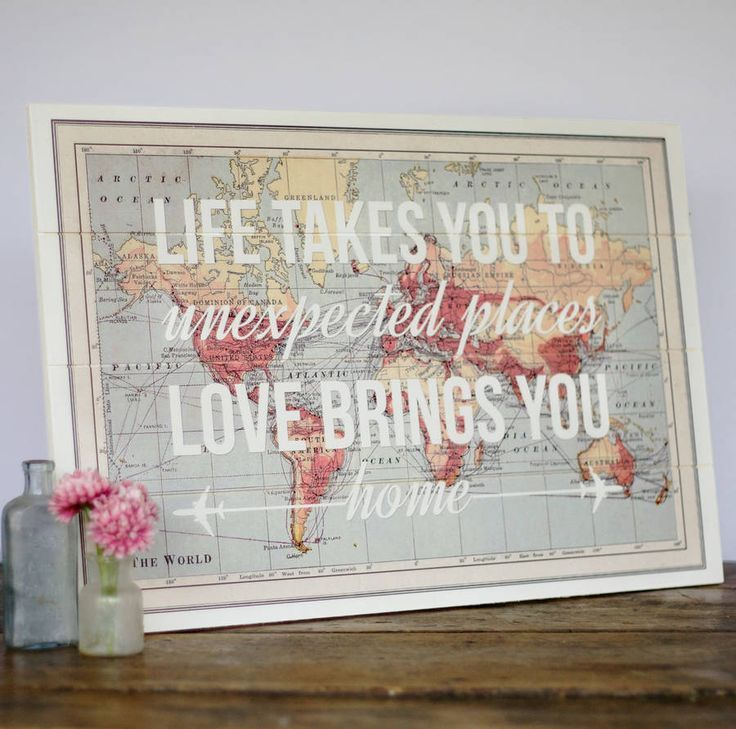 17 cool ideas for world map wall art craft ideas walls and photo 17 cool ideas for world map wall art live diy ideas gumiabroncs Images