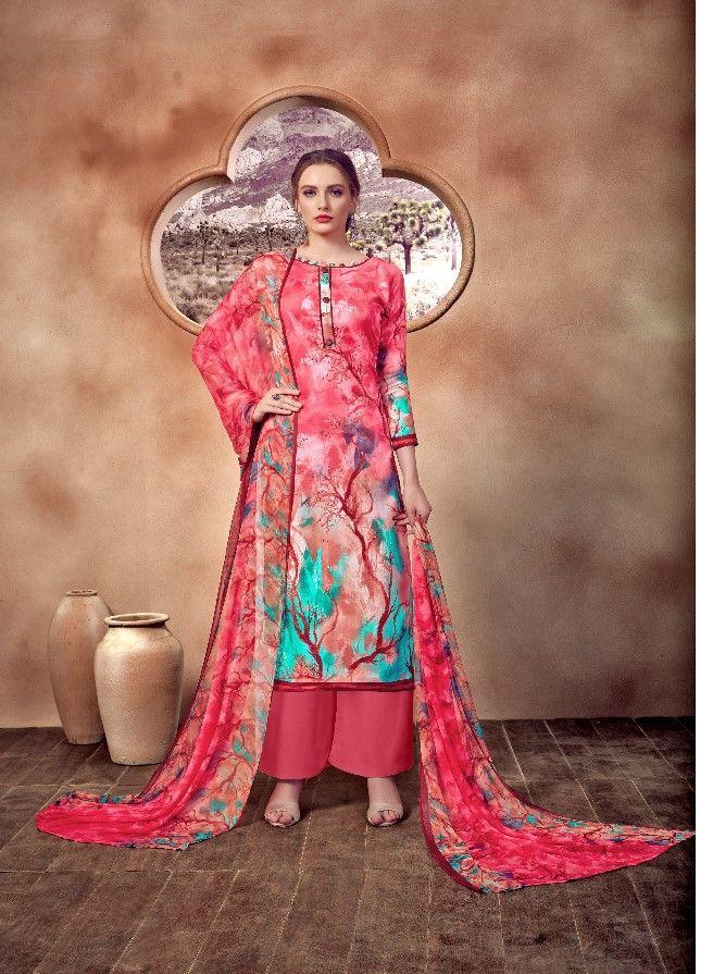Kesar Nagma Jam Cotton Dress Materials(10 Pc Set) Cotton