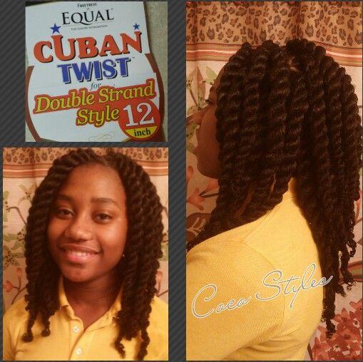 Jumbo Twists. Cuban Twist Hair, 12inch, 7pks. #cocostyles81 #cocostyled…