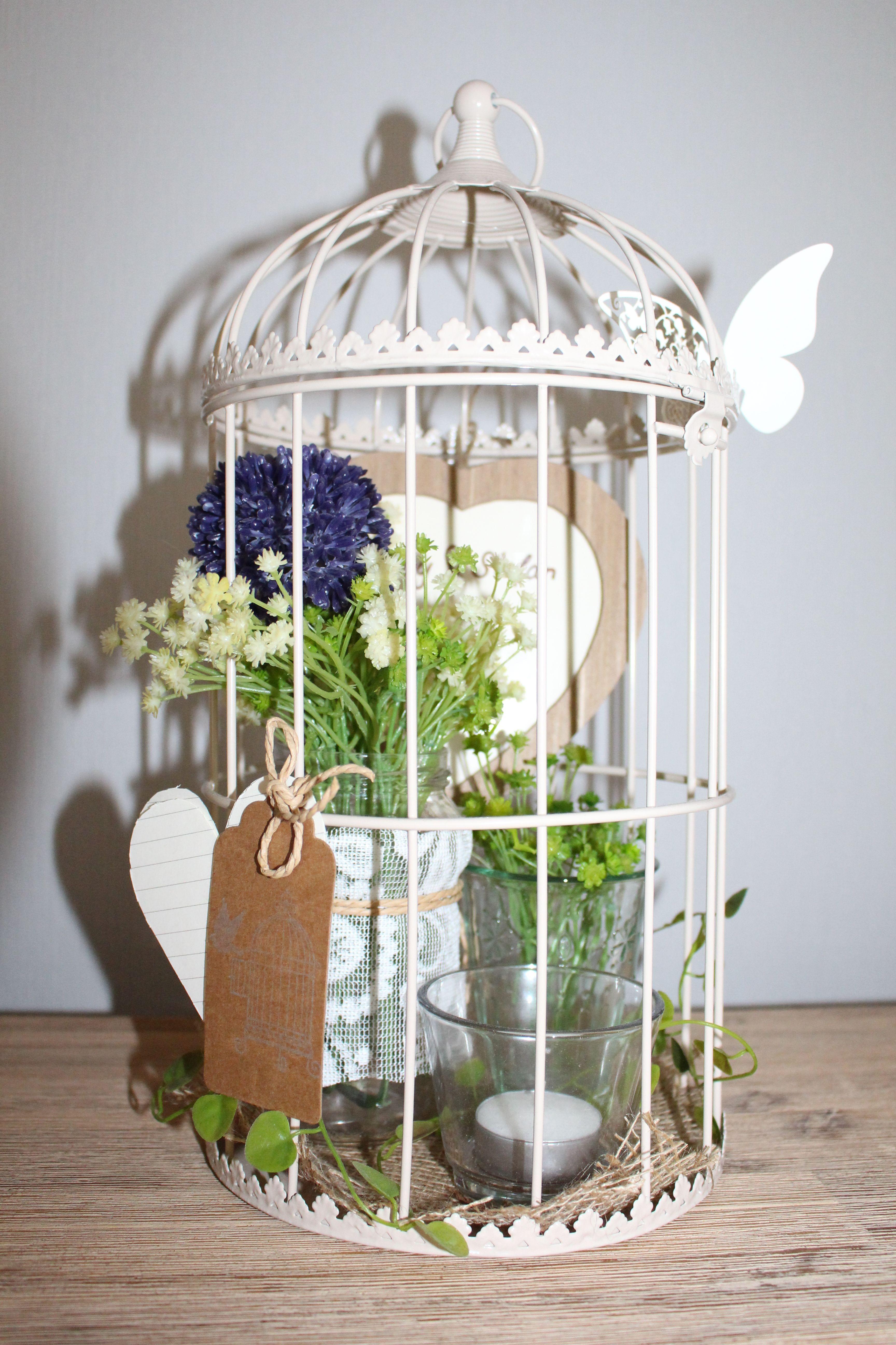 dekorierter vogelk fig gebasteltes pinterest dekorieren bilderrahmen und tischdeko. Black Bedroom Furniture Sets. Home Design Ideas