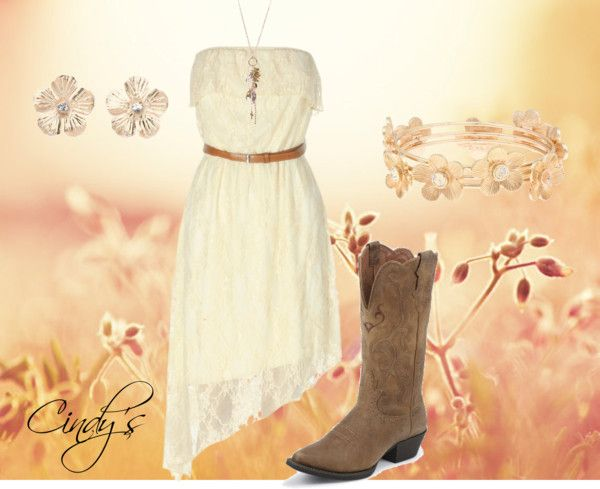 """Dress and Boots"" by cindycook10 on Polyvore"