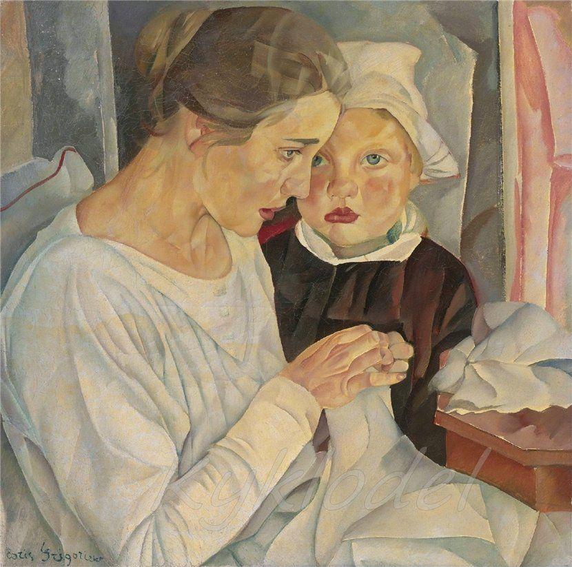 Борис Дмитриевич Григорьев (1886-1939). Дети