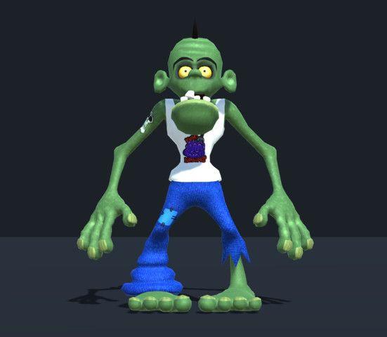 Toon Zombie # Toon #Zombie#Characters