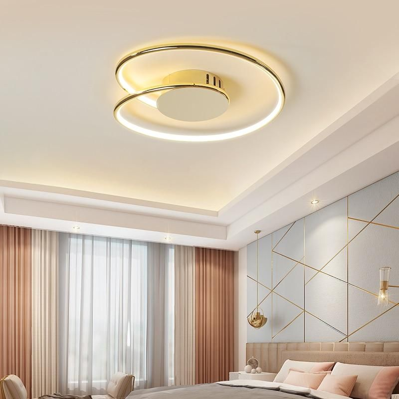 Fortice Led Ceiling Light Gold Plated Size 1 Diameter 430mm Cool White No Rc Ceiling Lights Led Ceiling Lights Chandelier In Living Room