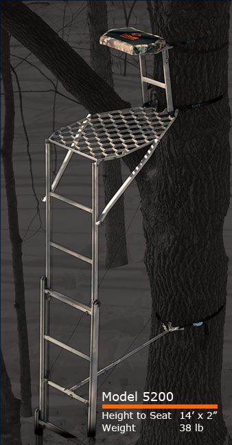 Leverage Speed Ladder Stand Deer Stand Deer Hunting Ladder Stands