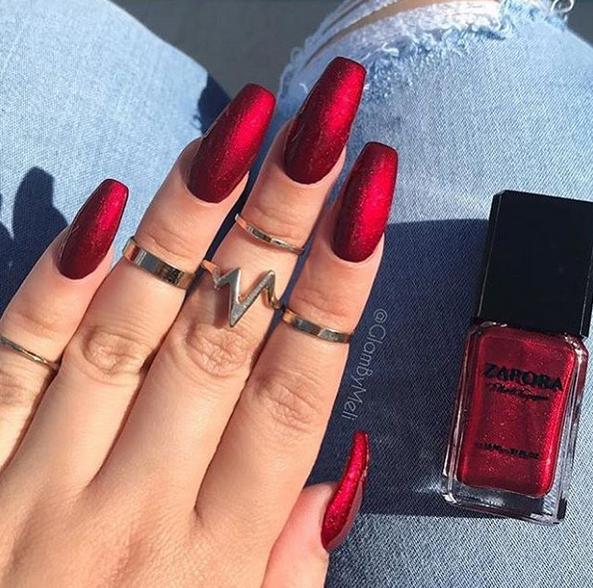 ღ sαℓσмé ∂єsєrτ ღ | nails | Pinterest | Diseños de uñas, Esmalte ...