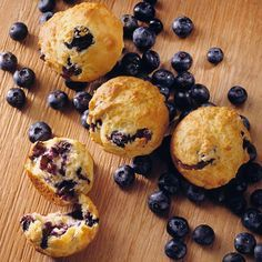 Zippy lemon peel offers a hint of citrus in every bite of this classic bakery staple: https://www.bhg.com/recipes/healthy/low-calorie-muffins/?socsrc=bhgpin030614lemonblueberrymuffinspage=15
