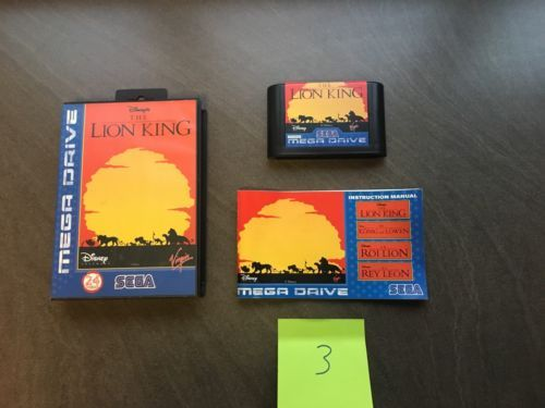 Sega mega #drive game - the lion king - #complete  #listing 3,  View more on the LINK: http://www.zeppy.io/product/gb/2/322376843749/