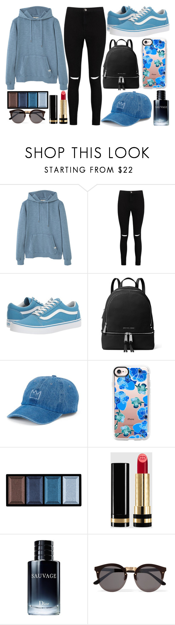 Blue and Black\