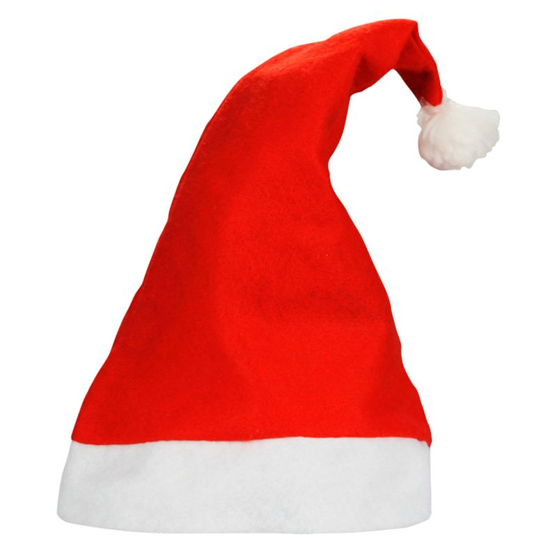 Red Santa Claus Hat High Grade Sinterlass Hood Caps Christmas New Year  Ceremony Party Accessories 7fbae6409e11