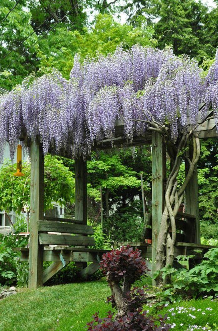 Voici Nos Exemples Pour Un Banc De Jardin Jardins Banc Jardin Et Idees Jardin