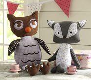 Penny & Joy Owl Plush