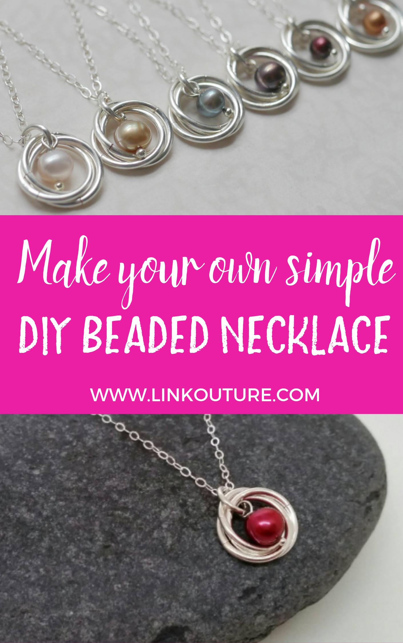 Photo of Super schicke und feminine Perlenkette DIY Tutorial – Erfahren Sie, wie Sie Ihre ve …