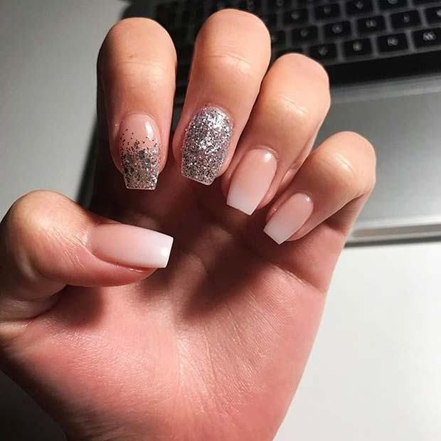 68 Trends Gel Glamorous Nye Nail Ideas Nail Art Pinterest