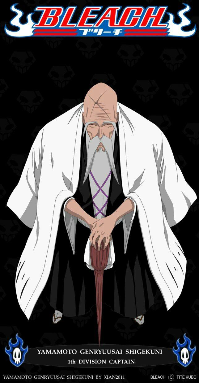 Genryuusai Yamamoto Head Captain Of Squad 1 Bleach
