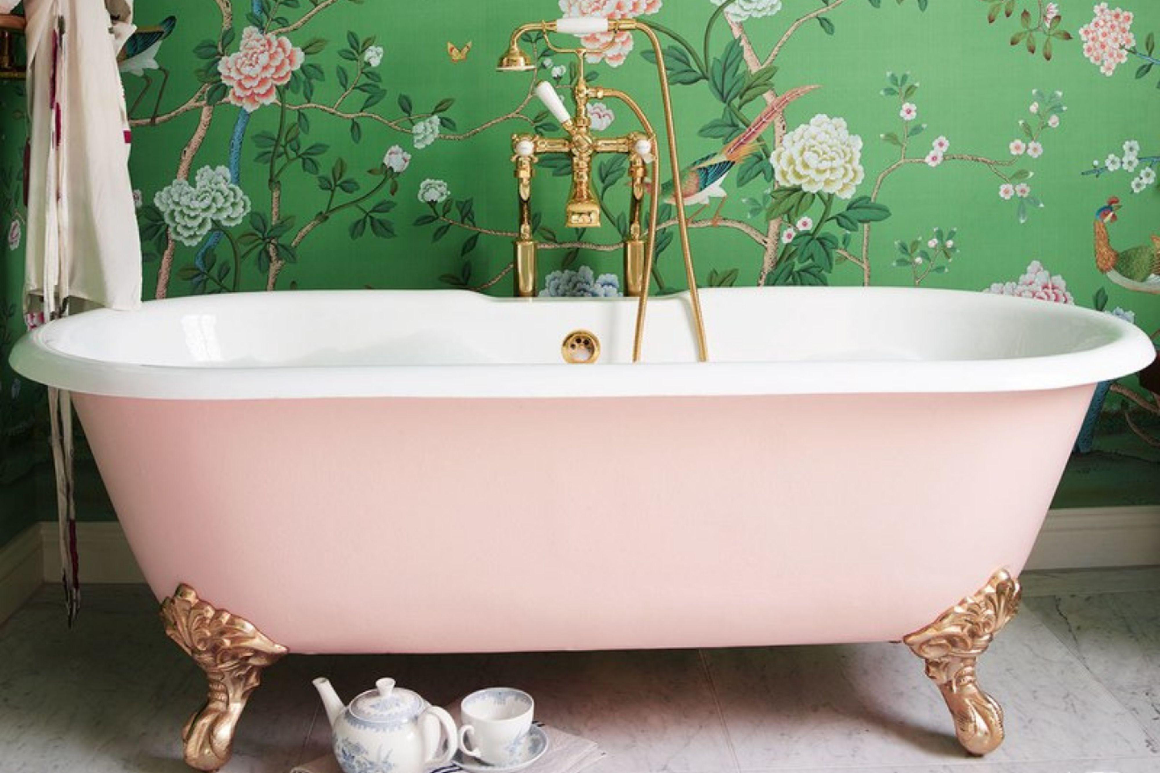 Vintage Claw Foot Tubs Clawfoot Tub Pink Tub Vintage Tub