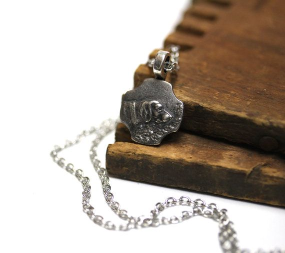 Dog Necklace for Pet Owner by ChatterBlossom dog necklace vintage