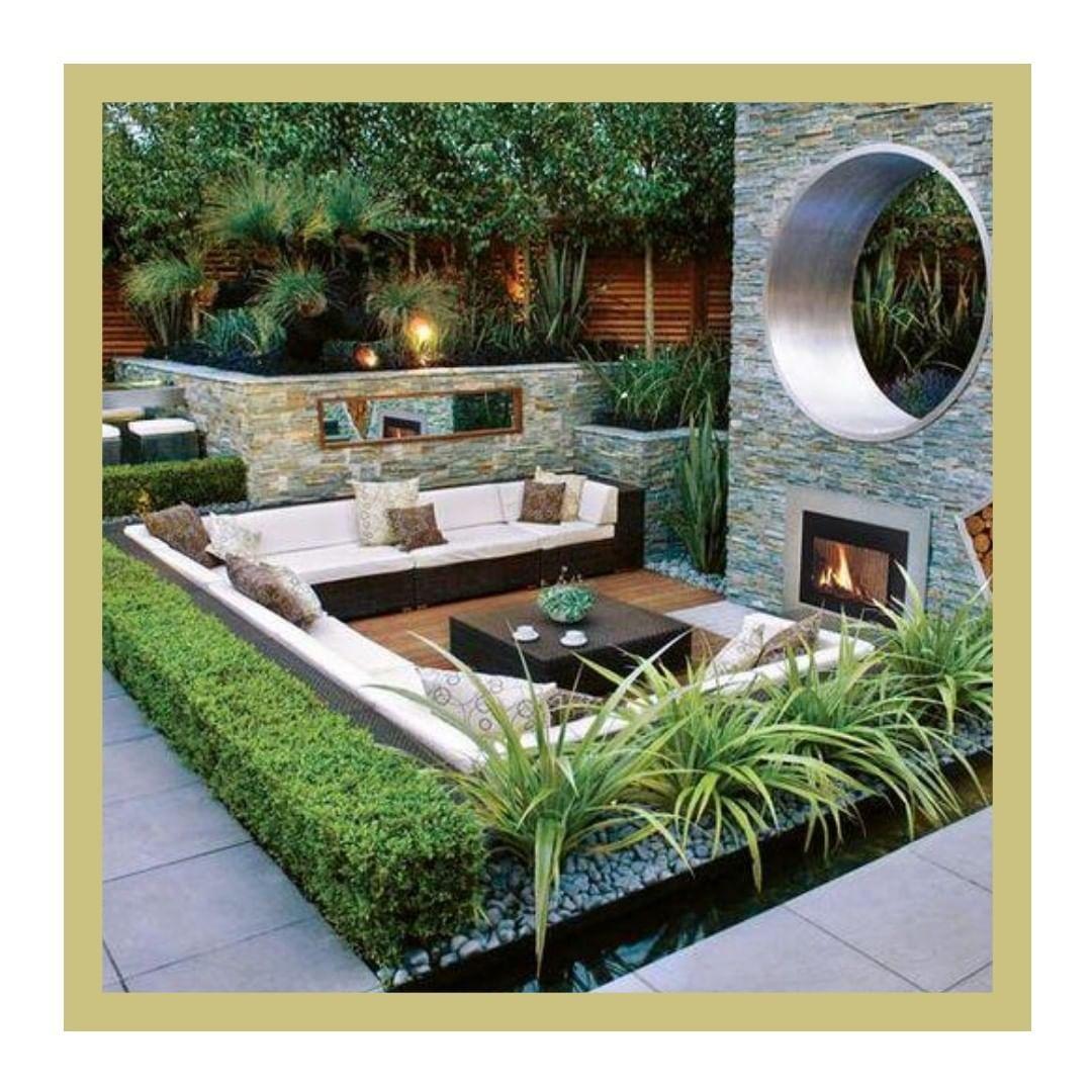 Pin On Gardens Modern yard design ideas