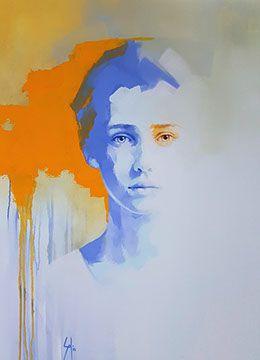 Portrait Aquarelle Watercolor Abstract Portrait Paintings Top