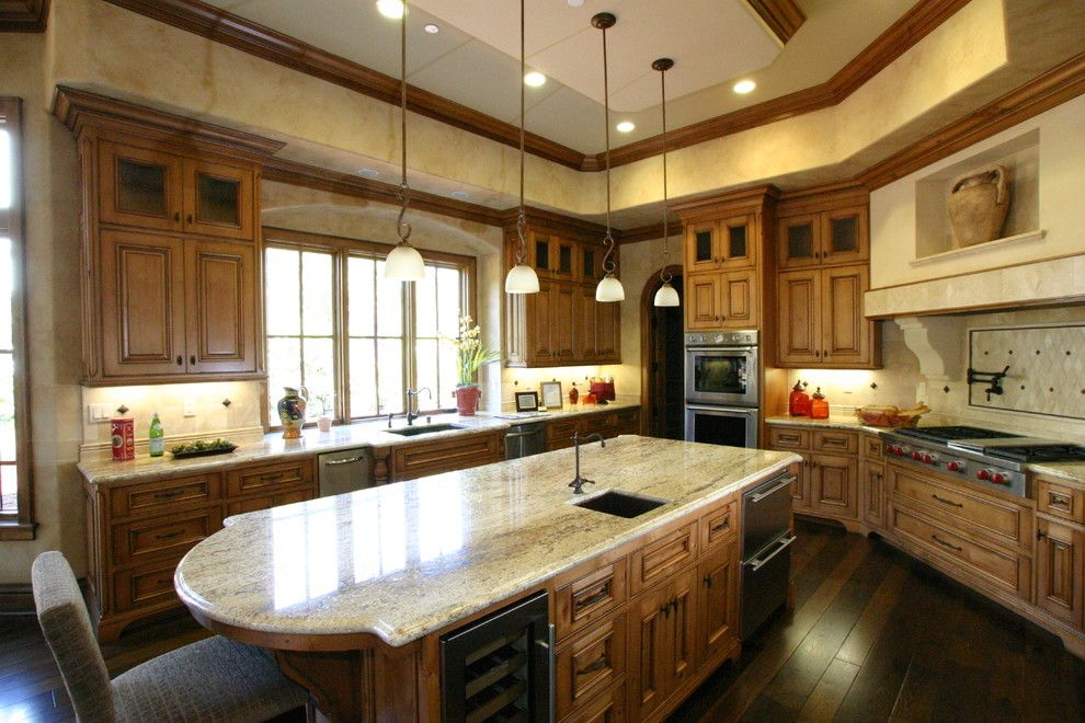 engineered hardwood flooring Kitchen Contemporary with none ...
