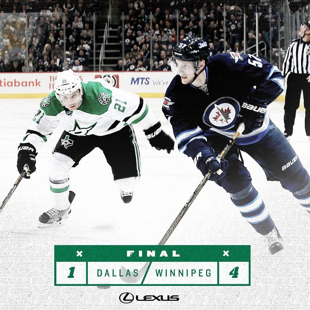 20161027 Game 07 Dallas Stars Winnipeg Jets Dallas