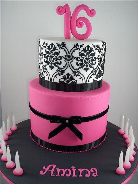Dscf4132 Custom With Images Sweet Sixteen Cakes 16 Birthday