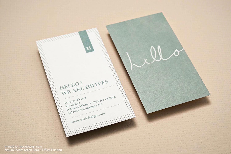 Monogram cool business stationary visiting card design | RockDesign ...