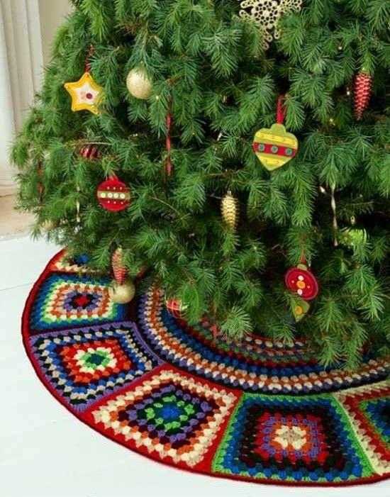 Crochet Christmas Tree Skirt Free Pattern Crochet Christmas