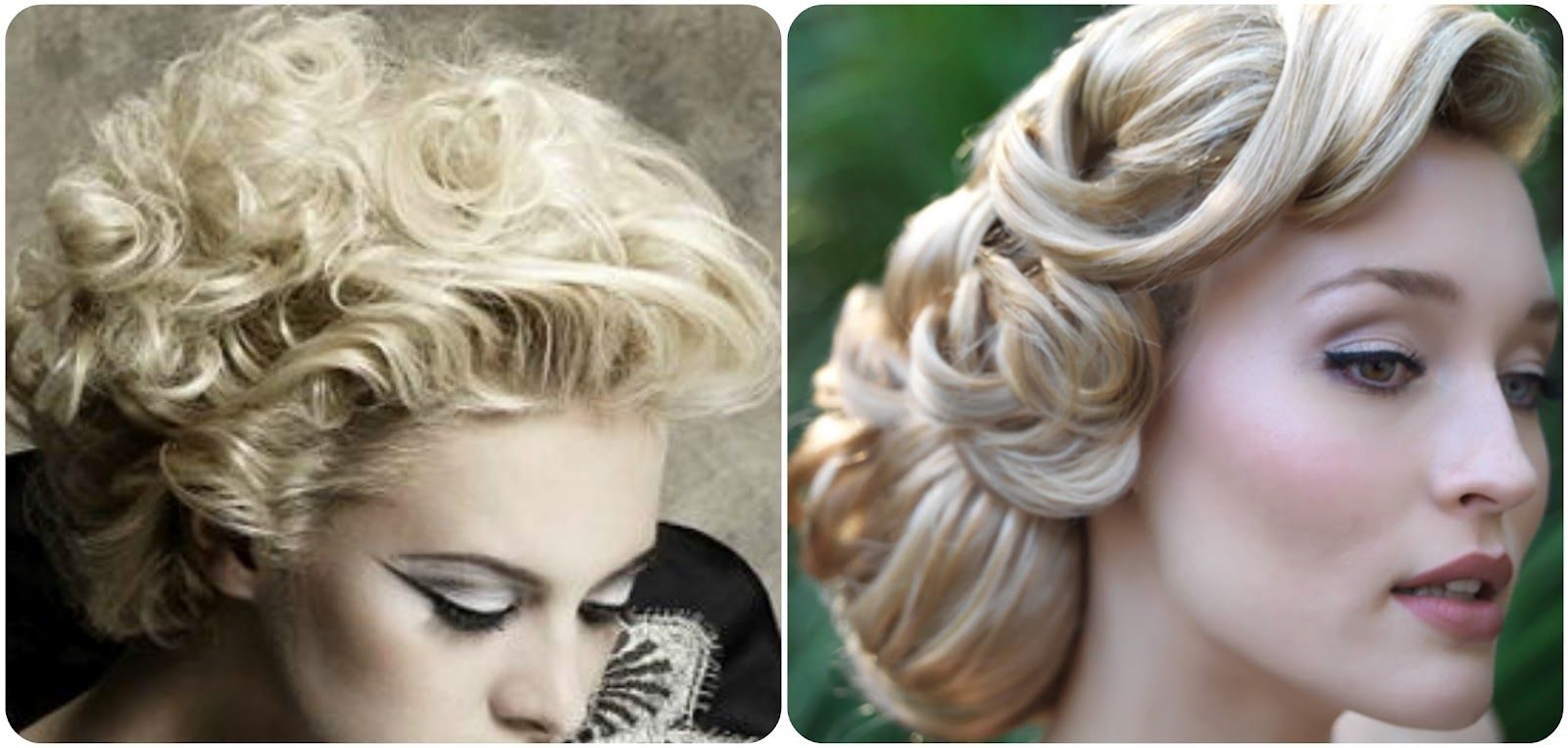 vintage bridal updo hairstyles | retro hairs | hairstyle