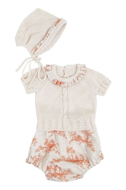 The baby collection features fine baby knitwear and fresh cottons ...