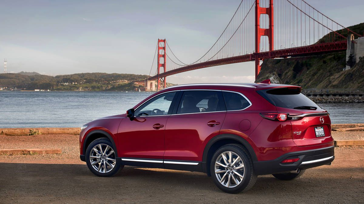 2016 Mazda CX9 Signature review More fun if you fit