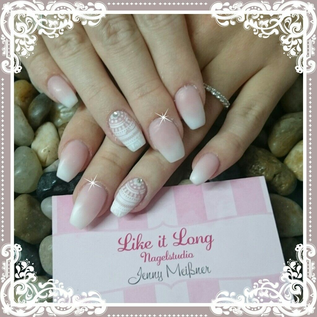 About baby boomer nail art tutorial by nded on pinterest nail art -  Nails Babyboomer Matt Nude N Gel