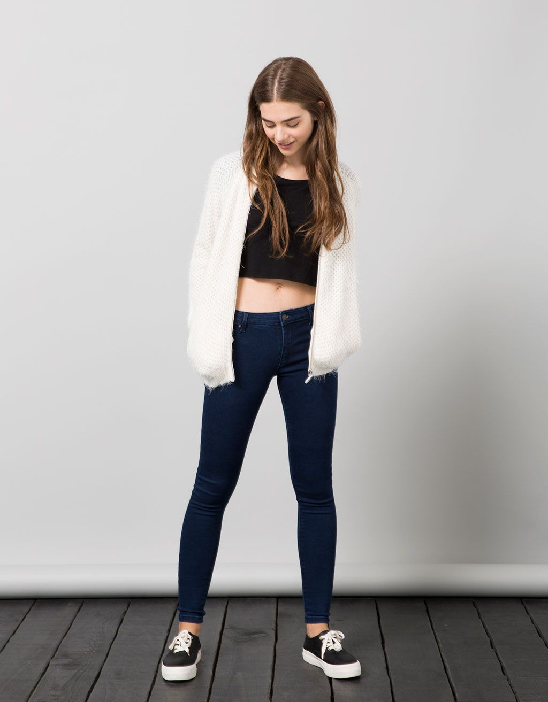 09442d1eb28071 BSK push up jeans - Jeans - Bershka Jordan
