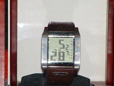 Men's Diesel DZ-7078 Digital Leather Band Quartz Watch