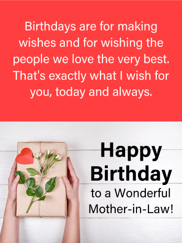 To A Wonderful Mother In Law Happy Birthday Card Birthday Greeting Cards By Davia Birthday Cards For Mother Happy Birthday Mother Birthday Wishes For Mother