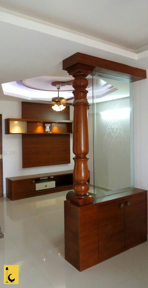 Tv Unit Partition Glass Partition Designs Room