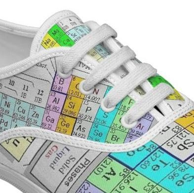 These elements protect your feet from the elements nerd apparel oh yea periodic table shoes urtaz Gallery