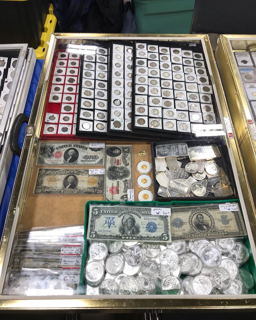 The Tna Coin Show Is Open For Business Today Great Start Already Selling A Lot Follow Us For Even More Fun A Ebay Store Instagram Posts Houston Tx