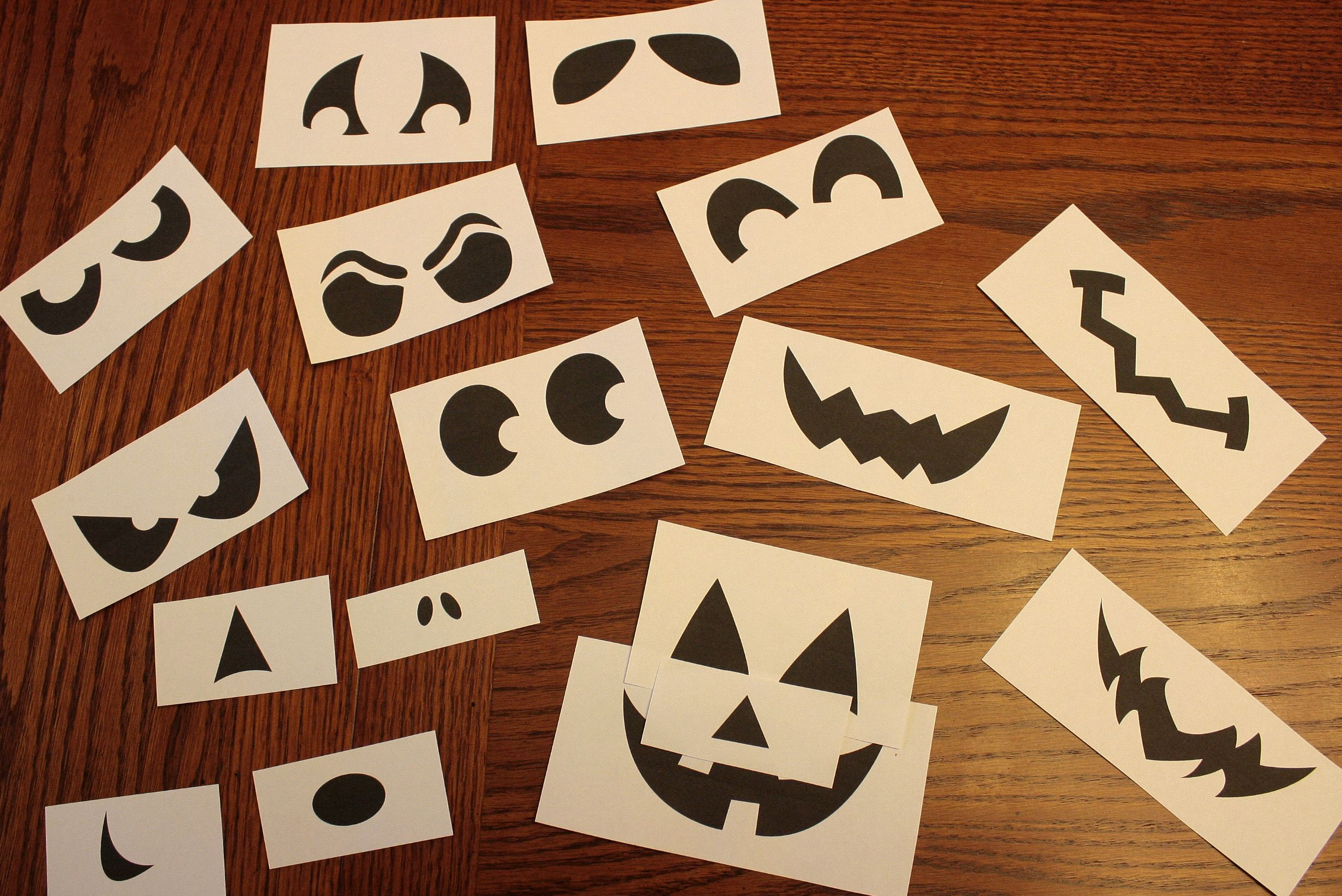 Templates For Jack O Lantern Faces