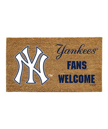Take A Look At This New York Yankees U0027Fans Welcomeu0027 Mat By Evergreen On
