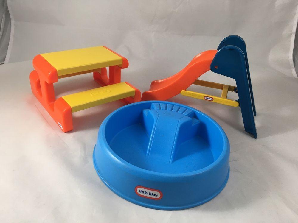 little tikes dollhouse slide