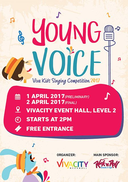 young voice viva kids singing competition 2017 next weekend blog